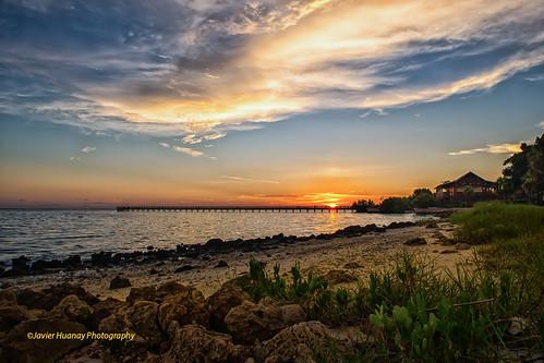 sunset nature clouds river nikon peace florida sarasota javier d800 huanay