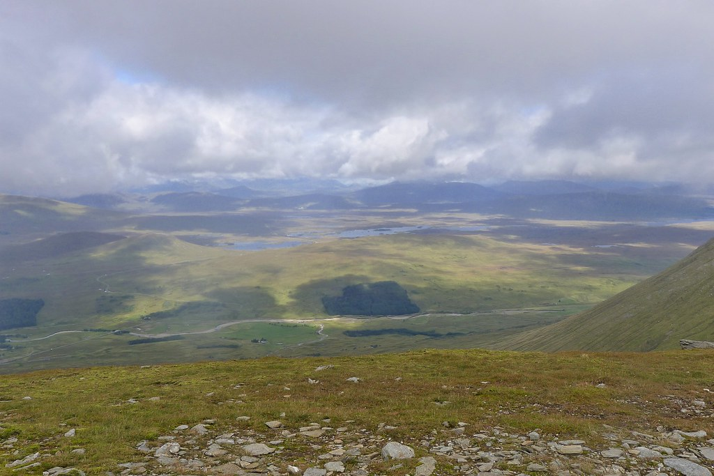 Views across Rannoch Moor