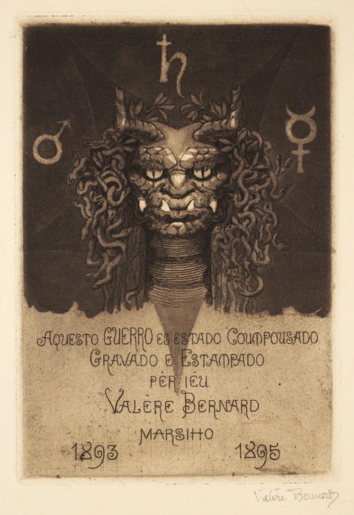 Valère Bernard - Guerro cul de lampe