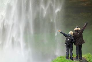 Cascade SELJALANDSFOSS (foss signifie cascade)