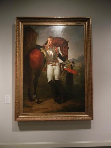 DSCN7932 _ Portrait of Second Lieutenant  Charles Legrand, c. 1810, Baron Antoine-Jean Gros (1771-1835),  LACMA