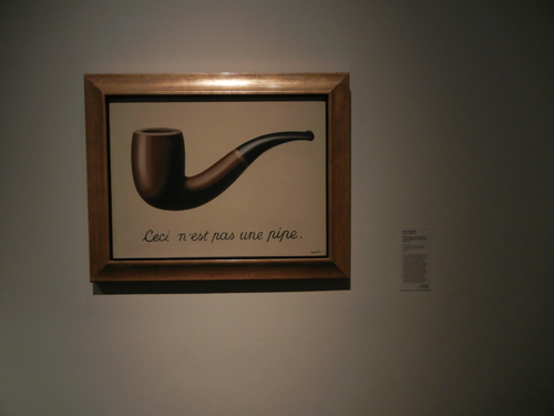 DSCN7916 _ La trahison des images [Ceci n'est pas une pipe], (The Treachery of Images [This is Not a Pipe]), 1929, René Magritte (1898-1967), LACMA