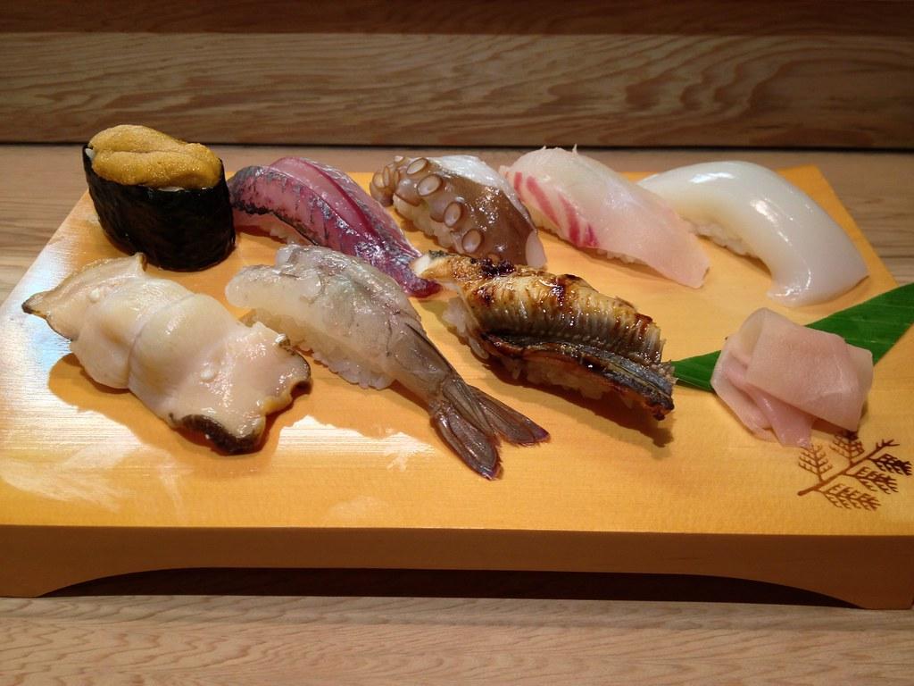 地魚特上握り鮨8貫