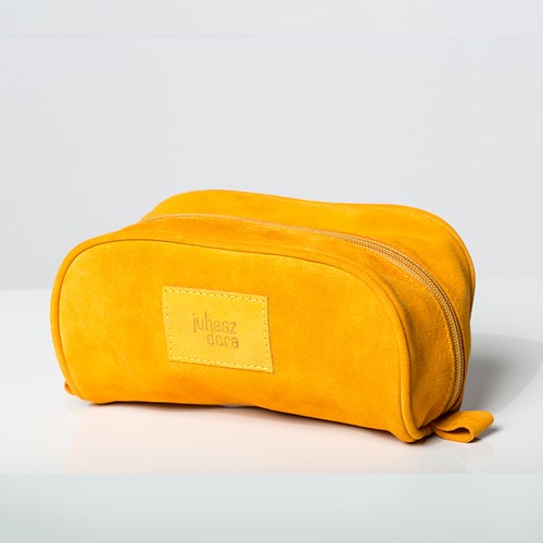 Toiletry Bag - Orange Yellow - 001a