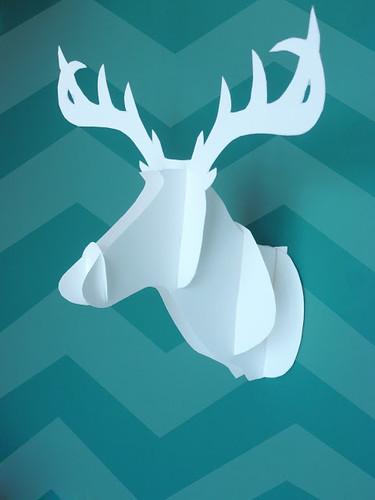 3d-paper-deer-head