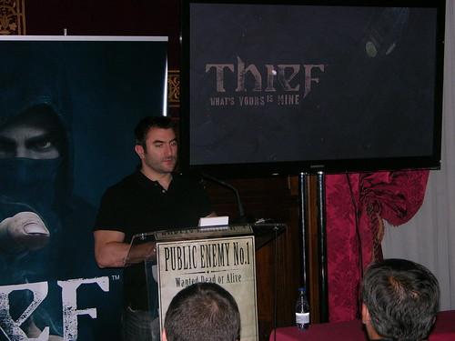 Thief press event spain10