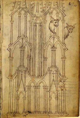 005-Français 19093,-fol. 10-Francia-Laon, torre de  Notre-Dame-Bibliothèque nationale de France