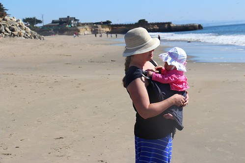 Beach Babywearing