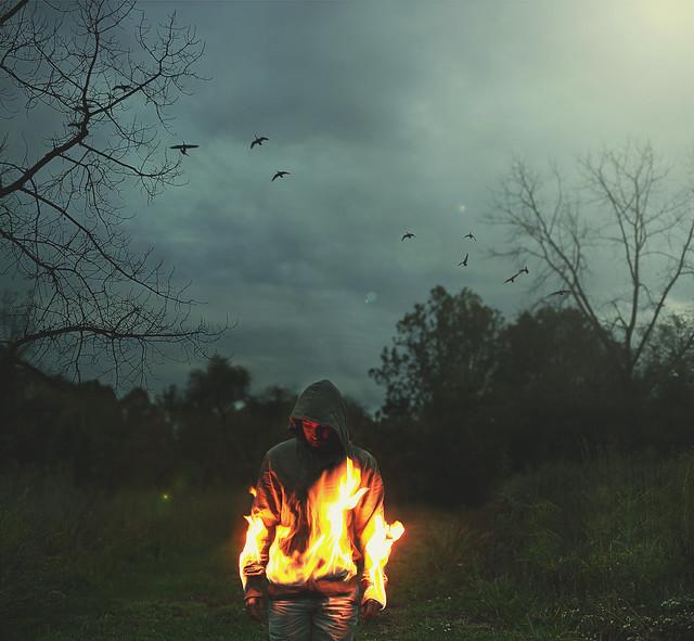 Bairon Rivera - Burning Man