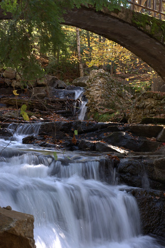 Waterfalls near Meech Lake