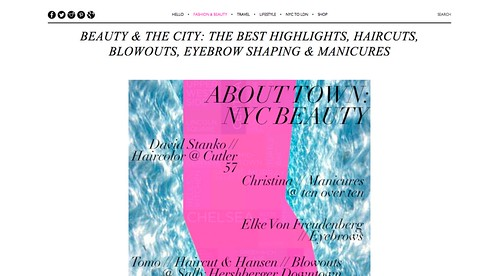 The Best Highlights  Haircuts  Blowouts  Eyebrow Shaping   Manicures — StyleBomb
