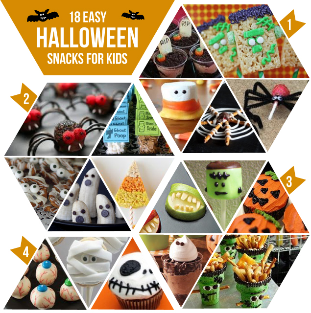Halloween Snack Ideas for Kids and Parties - KaelahBee.com