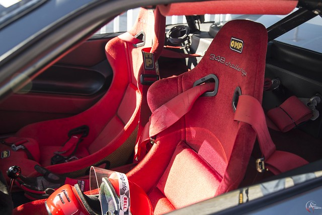 Ferrari 348 Challenge Interior