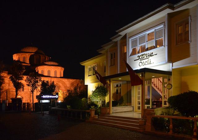 Iglesia Salvador en Chora y Restaurante Asitane en Estambul
