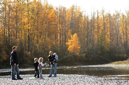 Falcons Family Fishing