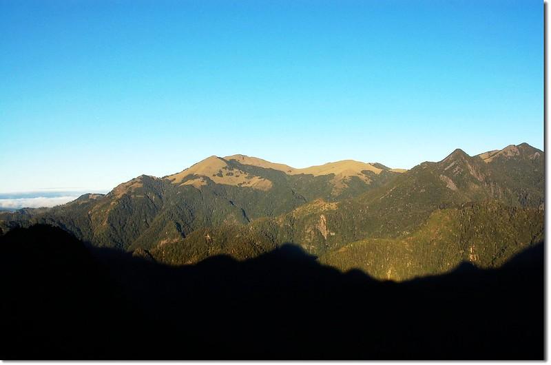 大雪山(From 佳陽山3116峰)