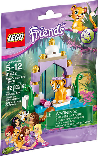 LEGO Friends Tiger's Beautiful Temple (41042)