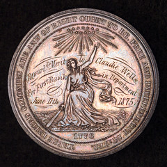 Centennial Medal Made into School Medal obverse