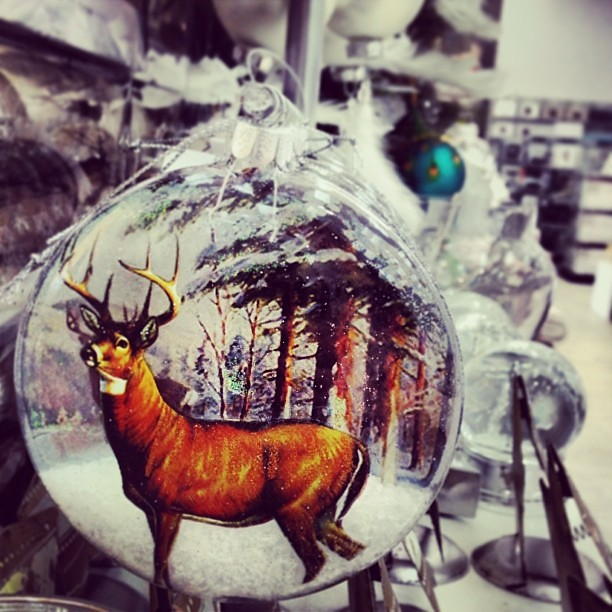 Merching Christmas. THIS is my favorite bauble by far! #christmas #decoration #bauble