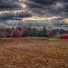 Black Friday, 2013: Lehigh Valley, Pennsylvania farm at sunset. November 29, 2013 by walker_11502