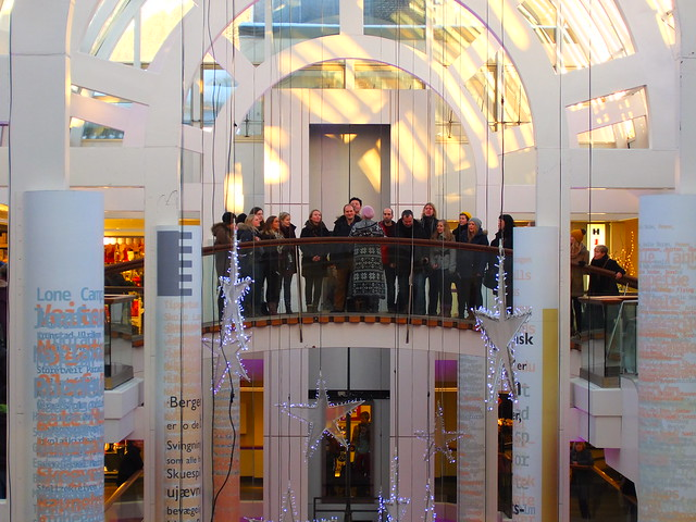 Kor e' tonen syng jula inn på Galleriet