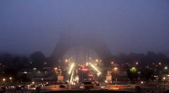 Tour Eiffel à l'aube