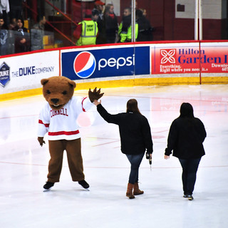 Cornell Bear High Five