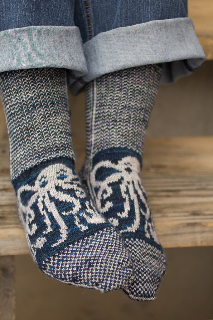 It S Official Octopodes My Pattern In Knitty Is Out Tinking Turtle