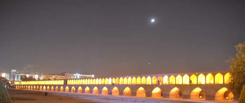 47 Puente de Sio Seh Pol o de los treinta y tres arcos en Isfahan (147)