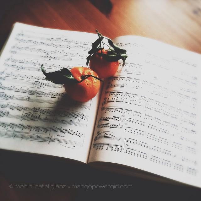 music & satsuma