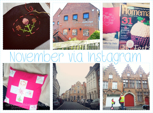November in Instagram
