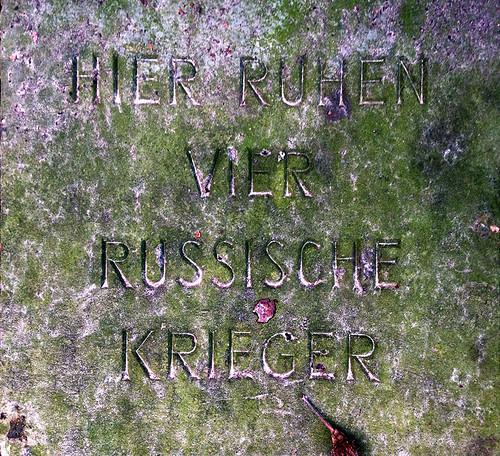 Russische Krieger; copyright 2014: Georg Berg