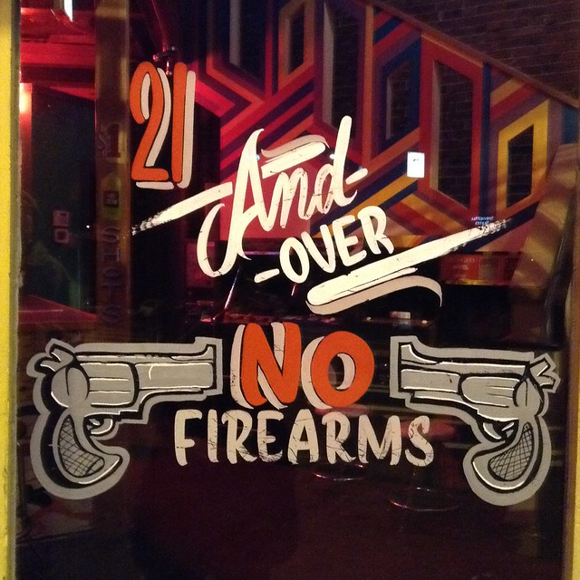 21 and Over : No Firearms