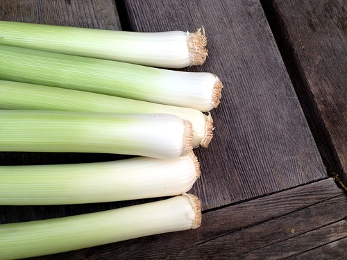 King Richard Leeks from Our Farm