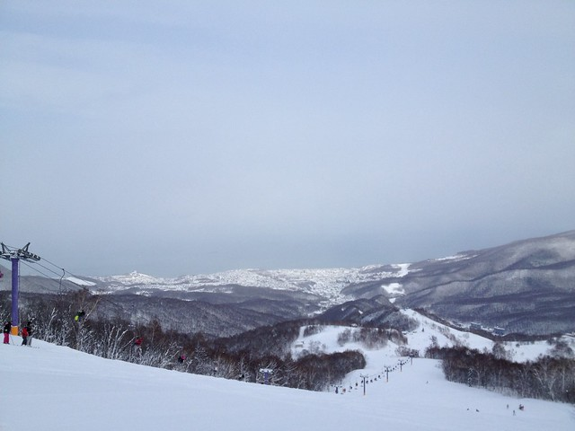 Photo:朝里川温泉スキー場 パープルリフト頂上-02 20140103 By y_ogagaga