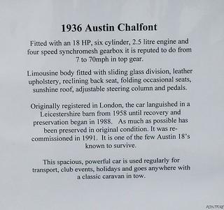 1936 Austin Eighteen Chalfont