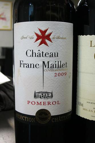 Chateau Franc Maillet 2009