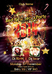 Main File New Year Party Flyer