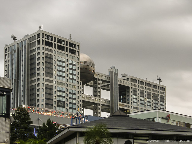 Edificio de Fuji TV