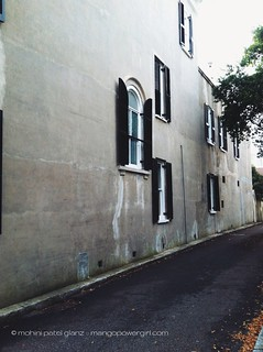 old charleston facade