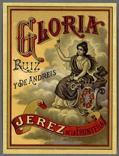 007-Etiquetas de bebidas. Figuras y retratos de mujeres-1890-1920- Biblioteca Digital Hispánica