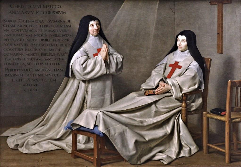 IMG_6455AA  Philippe de Champaigne 1602-1674 Paris Ex Voto 1662  Louvre