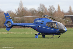 G-PERF - 2007 build Eurocopter EC120B Colibri. parked North of the JetA1 at Barton