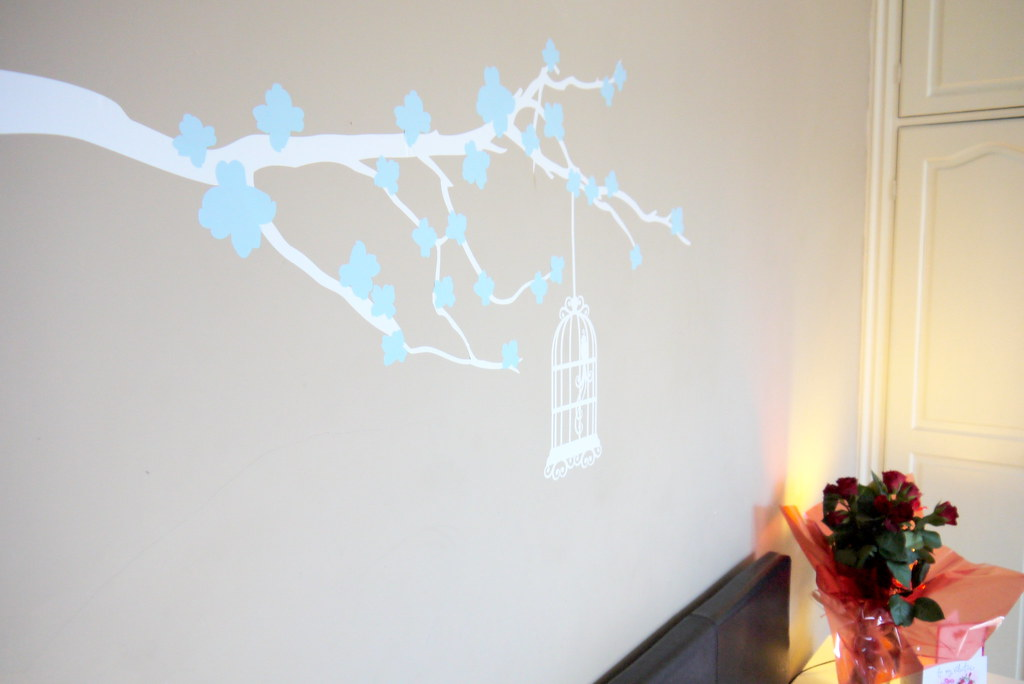 [blog] CUT IT OUT wall sticker - Kirsty Wears