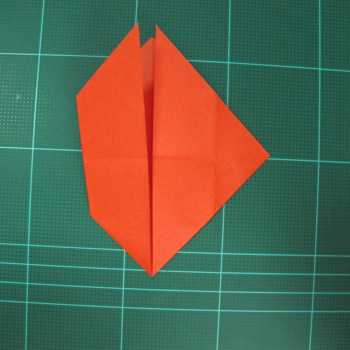 การพับกระดาษเป็นนกพิราบ (Origami pigeon) 00012