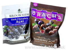 Brookside and Brach's Dark Chocolate Blueberry Acai