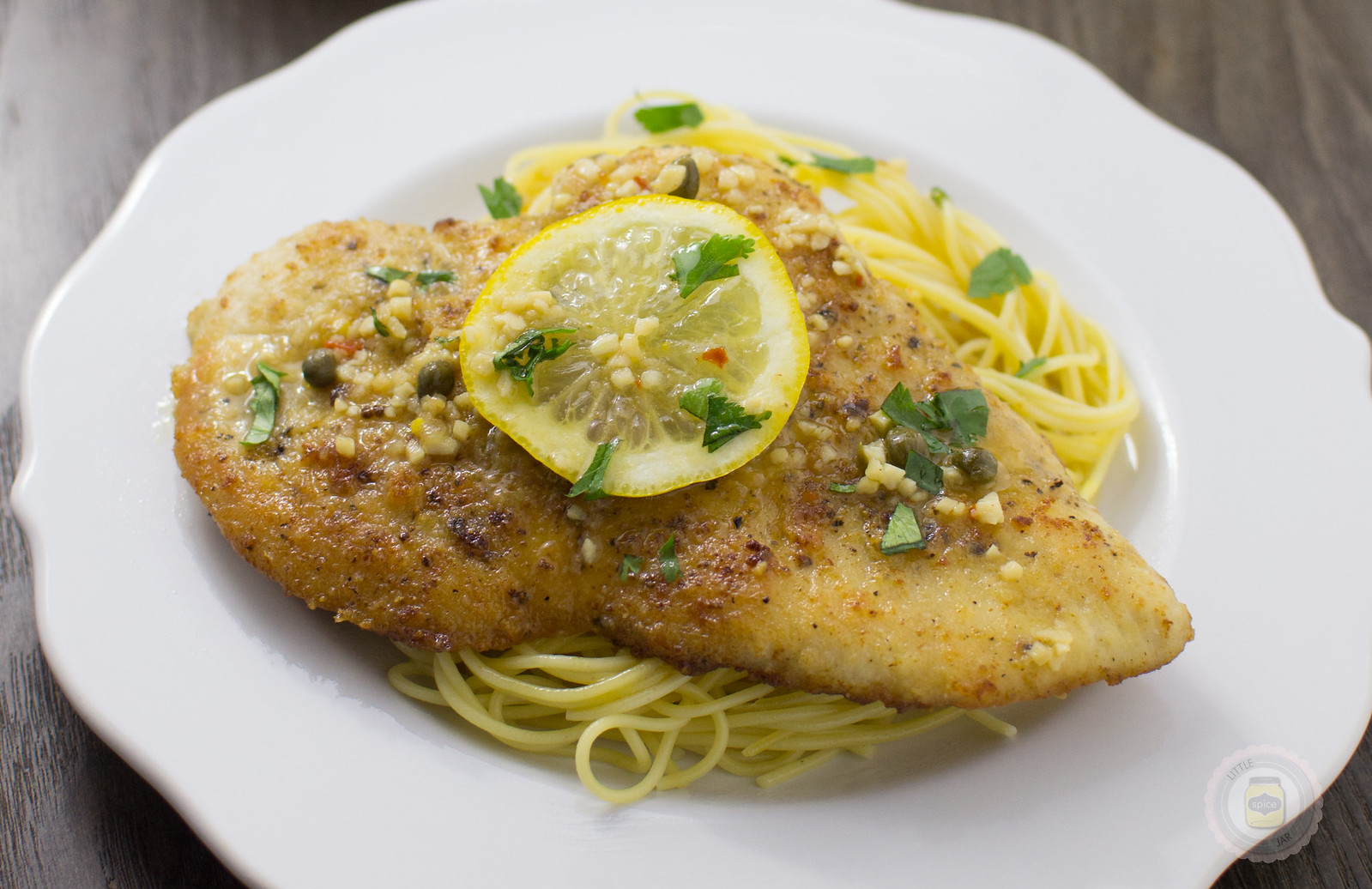 Garlicky Chicken Piccata Horizontal