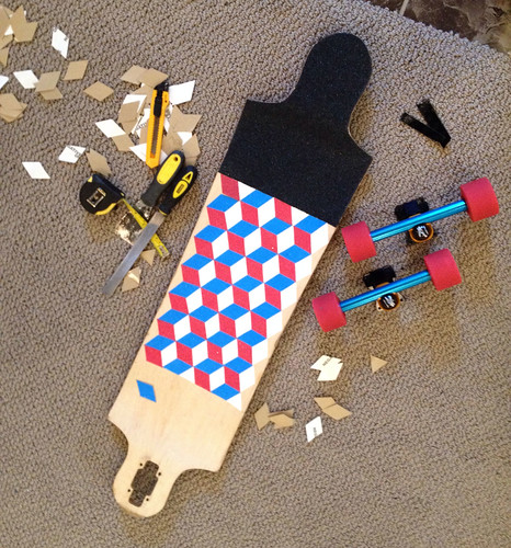 This is what happens when skateboarders and quilters hang out.