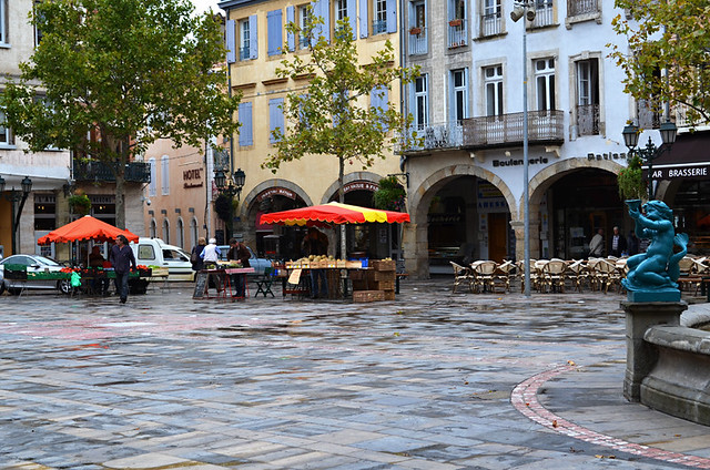 Place de la Republique, Limoux, France