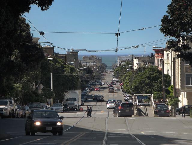 Irving St, Sunset POV UCSF; San Francisco 2014